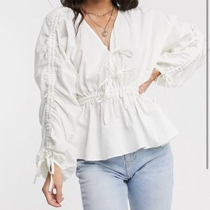 ASOS Ruched Top
